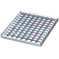 Сварная стальная оцинкованная решетка 1000х1000мм, 34х38