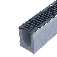 Лоток сверхпрочный бетонный Drive, 1000х160х210мм
