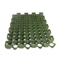 Газонная решетка, зеленая