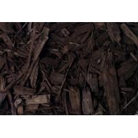 Мульча древесная, щепа Шоколад