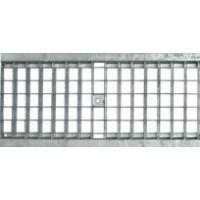 Решетка водоприемная ячеистая стальная оцинкованная DN200