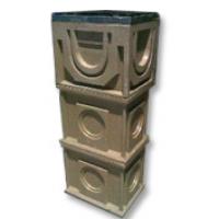 Комплект: Верх водоотводящего дождеприемника DN 300, усиленной серии