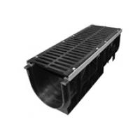 Комплект: водоотводящий лоток DN 300, усиленной серии