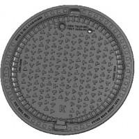 Люк канализационный тяжелый магистральный тип ТМ (D400) «KDN81P EUROPA»