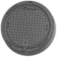 Люк канализационный сверхтяжелый тип СТ (Е600)«KEN81P EUROPA»