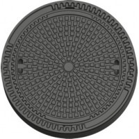 Люк канализационный сверхтяжелый тип СТ (F900)«KFD05T»