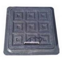 Люк-мини  пластиковый 300х300мм,черн