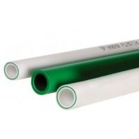 Труба композитная Faser PP-R, SDR7.4, PN20 с стекловолокном